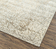 Jaipur Rugs - Hand Knotted Wool and Bamboo Silk Grey and Black SRB-729 Area Rug Floorshot - RUG1085078
