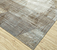 Jaipur Rugs - Hand Knotted Wool and Bamboo Silk Grey and Black SRB-730 Area Rug Floorshot - RUG1083773