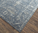 Jaipur Rugs - Hand Knotted Wool and Bamboo Silk Blue SRB-771 Area Rug Floorshot - RUG1074134