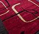 Jaipur Rugs - Hand Tufted Wool Red and Orange TAC-96 Area Rug Floorshot - RUG1018771