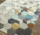 Jaipur Rugs - Hand Tufted Wool and Viscose Grey and Black TAQ-186 Area Rug Floorshot - RUG1077232