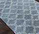 Jaipur Rugs - Hand Tufted Wool and Viscose Blue TAQ-230 Area Rug Floorshot - RUG1031194