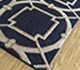 Jaipur Rugs - Hand Tufted Wool and Viscose Blue TAQ-234 Area Rug Floorshot - RUG1069350