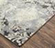 Jaipur Rugs - Hand Tufted Wool and Viscose Grey and Black TAQ-4044 Area Rug Floorshot - RUG1071837