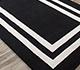 Jaipur Rugs - Hand Tufted Wool and Viscose Grey and Black TAQ-6054 Area Rug Floorshot - RUG1060259