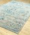 Jaipur Rugs - Hand Tufted Wool and Viscose Blue TAQ-609 Area Rug Floorshot - RUG1084579