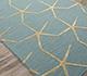 Jaipur Rugs - Hand Tufted Wool and Viscose Blue TAQ-829 Area Rug Floorshot - RUG1059934