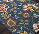 Jaipur Rugs - Hand Tufted Wool Blue TPL-54 Area Rug Floorshot - RUG1032070