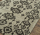 Jaipur Rugs - Hand Tufted Wool and Viscose Grey and Black TQR-4021 Area Rug Floorshot - RUG1076073