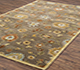Jaipur Rugs - Hand Tufted Wool Green TRA-16 Area Rug Floorshot - RUG1054244