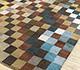 Jaipur Rugs - Hand Tufted Wool Blue TRA-2004 Area Rug Floorshot - RUG1087303
