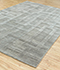 Jaipur Rugs - Hand Tufted Wool and Viscose Grey and Black TRA-352 Area Rug Floorshot - RUG1083370
