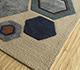 Jaipur Rugs - Hand Tufted Wool and Viscose Multi TRA-485 Area Rug Floorshot - RUG1095929