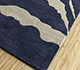 Jaipur Rugs - Hand Tufted Wool Blue TRA-524 Area Rug Floorshot - RUG1095537