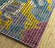 Jaipur Rugs - Hand Tufted Wool and Viscose Blue TRA-666 Area Rug Floorshot - RUG1095665