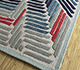 Jaipur Rugs - Hand Tufted Wool and Viscose Ivory TRA-672 Area Rug Floorshot - RUG1095671