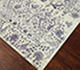 Jaipur Rugs - Hand Knotted Wool and Silk Ivory TX-503 Area Rug Floorshot - RUG1057355