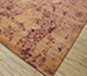 Jaipur Rugs - Hand Knotted Wool and Silk Red and Orange TX-503 Area Rug Floorshot - RUG1089422