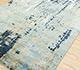 Jaipur Rugs - Hand Knotted Wool and Bamboo Silk Blue USL-168 Area Rug Floorshot - RUG1086243