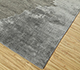 Jaipur Rugs - Hand Knotted Wool and Bamboo Silk Grey and Black USL-186 Area Rug Floorshot - RUG1094924