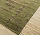 Jaipur Rugs - Hand Knotted Wool and Viscose Green YRH-703 Area Rug Floorshot - RUG1066104