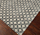 Jaipur Rugs - Tibetan Wool and Bamboo Silk Grey and Black ZNB-03 Area Rug Floorshot - RUG1058410