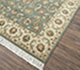 Jaipur Rugs - Hand Knotted Wool Green BT-107 Area Rug Floorshot - RUG1050575