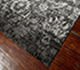 Jaipur Rugs - Hand Knotted Wool and Bamboo Silk Grey and Black ESK-624 Area Rug Floorshot - RUG1069036