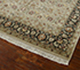 Jaipur Rugs - Hand Knotted Wool and Silk Beige and Brown QNQ-16 Area Rug Floorshot - RUG1055605