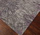 Jaipur Rugs - Hand Knotted Wool and Bamboo Silk Grey and Black ESK-400 Area Rug Floorshot - RUG1065301