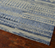Jaipur Rugs - Hand Knotted Wool and Bamboo Silk Blue ESK-663 Area Rug Floorshot - RUG1068988