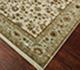 Jaipur Rugs - Hand Knotted Wool and Silk Ivory NRA-31 Area Rug Floorshot - RUG1045889