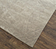 Jaipur Rugs - Hand Knotted Wool and Silk Grey and Black QM-951 Area Rug Floorshot - RUG1077496
