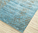 Jaipur Rugs - Hand Knotted Wool and Silk Blue QM-951 Area Rug Floorshot - RUG1077499