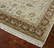 Jaipur Rugs - Hand Knotted Wool and Silk Ivory QNQ-10 Area Rug Floorshot - RUG1045920