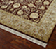 Jaipur Rugs - Hand Knotted Wool and Silk Red and Orange QNQ-10 Area Rug Floorshot - RUG1047160