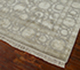 Jaipur Rugs - Hand Knotted Wool and Silk Grey and Black QNQ-21 Area Rug Floorshot - RUG1050353