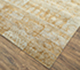 Jaipur Rugs - Hand Knotted Wool and Bamboo Silk Grey and Black SRB-652 Area Rug Floorshot - RUG1085717