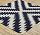 Jaipur Rugs - Flat Weave Wool Blue PX-1578 Area Rug Floorshot - RUG1011767
