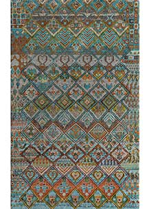 artisan-originals-light-turquoise-red-orange-rug1093557
