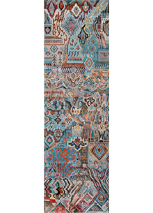 artisan-originals-light-turquoise-red-orange-rug1097324