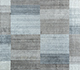 Undyed Linen/Medium Cobalt