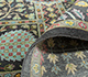 Jaipur Rugs - Hand Knotted Silk Grey and Black ASL-09 Area Rug Loomshot - RUG1080018