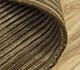 Jaipur Rugs - Hand Loom Wool and Viscose Beige and Brown HWV-2000 Area Rug Loomshot - RUG1088055