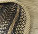 Jaipur Rugs - Flat Weave Jute Beige and Brown PDJT-192 Area Rug Loomshot - RUG1094934