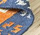 Jaipur Rugs - Flat Weave Wool Blue PDWL-351 Area Rug Loomshot - RUG1098469