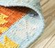 Jaipur Rugs - Flat Weave Wool Red and Orange PDWL-356 Area Rug Loomshot - RUG1098479