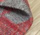 Jaipur Rugs - Flat Weave Wool Red and Orange PDWL-444 Area Rug Loomshot - RUG1098487