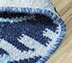 Jaipur Rugs - Flat Weave Wool Blue PDWL-445 Area Rug Loomshot - RUG1098489