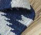 Jaipur Rugs - Flat Weave Wool Blue PDWL-448 Area Rug Loomshot - RUG1098492